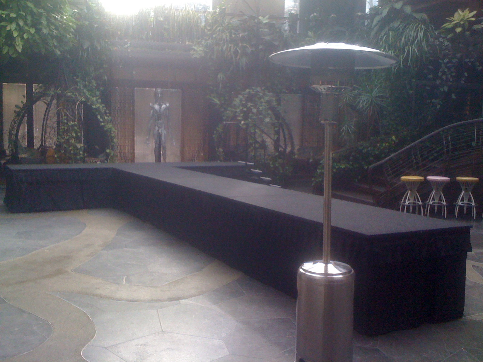 Catwalk ramp brisbane fashion runway brisbane runway for Catwalk flooring